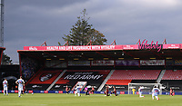 17th October 2020; Vitality Stadium, Bournemouth, Dorset, England; English Football League Championship Football, Bournemouth Athletic versus Queens Park Rangers; some players kneel before kick off