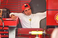 SAINZ Carlos (spa), Scuderia Ferrari SF21, portrait during the Formula 1 Pirelli British Grand Prix 2021, 10th round of the 2021 FIA Formula One World Championship from July 16 to 18, 2021 on the Silverstone Circuit, in Silverstone, United Kingdom <br /> Formula 1 GP Great Britain Silverstone 17/07/2021<br /> Photo DPPI/Panoramic/Insidefoto <br /> ITALY ONLY