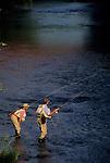 Fly fishing on Fishing Creek, PA