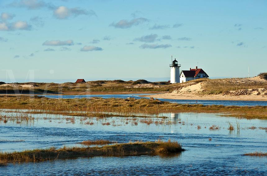 Race Point lighthouse, Provincetown, Cape Cod, Massachusetts, USA