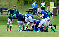 Saturday 10th October 2020 | Ballynahinch vs Queens<br /> <br /> Conor McKee during the Energia Community Series clash between Ballynahinch and Queens at Ballymacarn Park, Ballynahinch, County Down, Northern Ireland. Photo by John Dickson / Dicksondigital