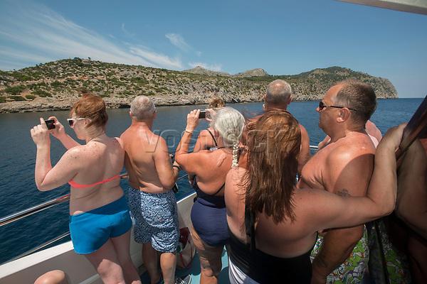 Bootstour an der Bucht von Alcudia