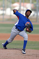Jose Rosario - Chicago Cubs 2009 Instructional League .Photo by:  Bill Mitchell/Four Seam Images..