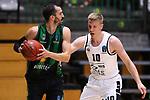 TDAYS EuroCup 2020-2021.Round 1.<br /> Joventut Badalona vs Partizan NIS Belgrado: 85-82.<br /> Pau Ribas vs Ognjen Jaramaz.