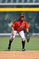 San Francisco Giants Kevin Rivera (19) during an instructional league game against the Arizona Diamondbacks on October 16, 2015 at the Chase Field in Phoenix, Arizona.  (Mike Janes/Four Seam Images)