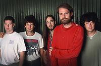 Torhout/Werchter Festival - Werchter - Belgium - 04/07/1993<br /> The Tragically Hip<br /> Gordon Downie<br /> Photo gie Knaeps- DALLE
