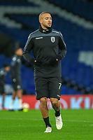 Omar El Kaddouri of PAOK during training and press conference at Stamford Bridge, London