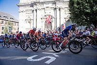 Marta Cavalli (FRA/FDJ Nouvelle Aquitaine Futuroscope) <br /> <br /> Women Elite - Road Race (WC)<br /> from Antwerp to Leuven (158km)<br /> <br /> UCI Road World Championships - Flanders Belgium 2021<br /> <br /> ©kramon