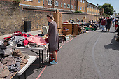 Portobello Road market, North Kensington, London.