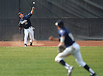 UC Davis' Austin March throws to Tino Lipson in a college baseball game against the Washington Huskies in Davis, Ca., on Saturday, Feb. 16, 2013. Davis won the opener 6-5 and dropped the second game 3-2..Photo by Cathleen Allison