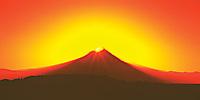 Sunrise over Mount Hood, Oregon.