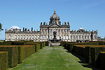 Great Britain, England, North Yorkshire, near York: Baroque exterior of Castle Howard