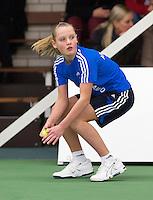 20-01-13, Tennis, Rotterdam, Wildcard for qualification ABNAMROWTT, ballgirl Suzan Lamens