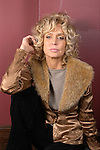 NEW YORK -- Novermber 10, 2003:  Actor Farrah Fawcett poses for a potrait at Angus McIndoe on 44th Street on November 11, 2003 in New York City.  (PHOTOGRAPH BY MICHAEL NAGLE)
