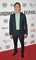 """Akie Kotabe attends the """"My Hero"""" Raindance Film Festival UK film premiere, Vue Piccadilly cinema, Lower Regent Street, London, England, UK, on Friday 25 September 2015. <br /> CAP/CAN<br /> ©Can Nguyen/Capital Pictures"""