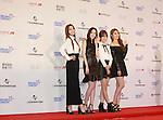 BESTie, Jun 07, 2014 : K-pop girl group BESTie pose before the Dream Concert in Seoul, South Korea. (Photo by Lee Jae-Won/AFLO) (SOUTH KOREA)