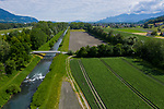 Äule, Binnenkanal, Gampriner See, Gamprin, Liechtenstein