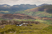 View from Cnicht towards the Nantlle Ridge, Snowdonia National Park.