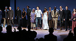 Corey Hawkins, Roslyn Ruff, Christian Camargo, Jayne Houdyshell, Orlando Bloom, Condola Rashad, Brent Carver, Chuck Cooper, Conrad Kemp,  Justin Guarini, Tracy Sallows and ensemble cast during the Broadway Opening Night Performance Curtain Call for 'Romeo and Juliet' at the Richard Rodgers Theatre in New York City on September 19, 2013.