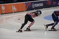 SPEEDSKATING: DORDRECHT: 05-03-2021, ISU World Short Track Speedskating Championships, QF 1500m Ladies, Valentina Ascic (CRO), ©photo Martin de Jong