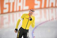 SCHAATSEN: HEERENVEEN: 01-11-2020, IJsstadion Thialf, Daikin NK Afstanden 2020, Erik Jan Kooiman, ©foto Martin de Jong