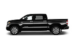 Car Driver side profile view of a 2018 Toyota Tundra Limited-Crew-Max-Short-Bed 4 Door Pickup Side View