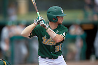 USF Bulls catcher Tyler Dietrich (38) at bat during a game against the Dartmouth Big Green on March 17, 2019 at USF Baseball Stadium in Tampa, Florida.  USF defeated Dartmouth 4-1.  (Mike Janes/Four Seam Images)