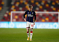 9th January 2021; Brentford Community Stadium, London, England; English FA Cup Football, Brentford FC versus Middlesbrough; Hayden Coulson of Middlesbrough