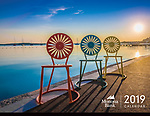 The 2019 Calendar from Monona Bank features 13 color photographs by Michael Knapstein.
