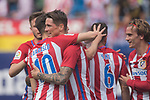 Fernando Torres (C) of Atletico de Madrid celebrates his goal with his teammates  during their La Liga match between Atletico de Madrid vs Athletic de Bilbao at the Estadio Vicente Calderon on 21 May 2017 in Madrid, Spain. Photo by Diego Gonzalez Souto / Power Sport Images