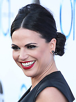 HOLLYWOOD, LOS ANGELES, CA, USA - SEPTEMBER 21: Lana Parrilla arrives at the Los Angeles Screening Of ABC's 'Once Upon A Time' Season 4 held at the El Capitan Theatre on September 21, 2014 in Hollywood, Los Angeles, California, United States. (Photo by Xavier Collin/Celebrity Monitor)