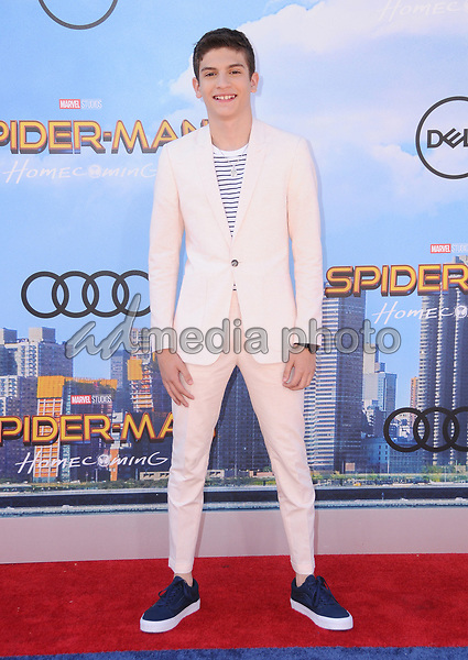 """28 June 2017 - Hollywood, California - Michael Barbieri. """"Spider-Man: Homecoming"""" Los Angeles Premiere held at the TCL Chinese Theatre in Hollywood. Photo Credit: Birdie Thompson/AdMedia"""