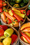 varieties of colorful peppers,  Zacherl's Farm Market, Route 23