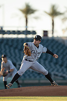 AZL White Sox starting pitcher Aaron Soto (36) delivers a pitch during an Arizona League game against the AZL Indians 1 at Goodyear Ballpark on June 20, 2018 in Goodyear, Arizona. AZL Indians 1 defeated AZL White Sox 8-7. (Zachary Lucy/Four Seam Images)