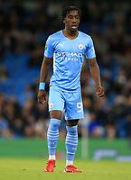 21st September 2021; Etihad Stadium,Manchester, England; EFL Cup Football Manchester City versus Wycombe Wanderers; Josh Wilson-Esbrand of Manchester City