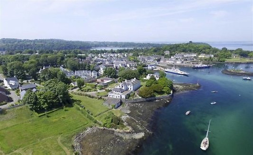Strangford village, Brendan Sharvin's home for all of his long life.