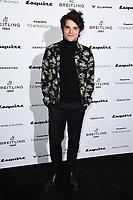 LONDON, UK. October 16, 2019: Edward Bluemel arriving for the Esquire Townhouse 2019 launch party, London.<br /> Picture: Steve Vas/Featureflash