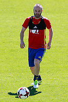 Spain's Andres Iniesta during training session. June 5,2017.(ALTERPHOTOS/Acero)