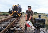 - Kosovo, Italian soldiers of Railroad Engineer corps work to the restoration of the railroads....- Kossovo, militari italiani del Genio Ferrovieri lavorano al ripristino delle ferrovie