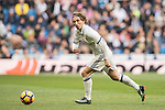 Luka Modric of Real Madrid in action during their La Liga 2016-17 match between Real Madrid and Malaga CF at the Estadio Santiago Bernabéu on 21 January 2017 in Madrid, Spain. Photo by Diego Gonzalez Souto / Power Sport Images