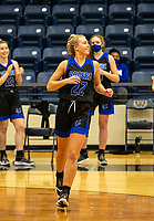 Kate Miller (22) of Rogers being introduced at Wolverine Arena, Centerton,  AR, Tuesday, January 12, 2021 / Special to NWA Democrat-Gazette/ David Beach