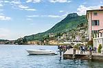 Italy, Lombardy, Lake Garda, Gargnano on the western shore of Lake Garda, the Riviera Bresciana | Italien, Lombardei, Gardasee, Gargnano am Westufer des Gardasees, der Riviera Bresciana