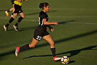 Portland, OR - Sunday March 11, 2018: Midge Purce during a National Women's Soccer League (NWSL) pre season match between the Portland Thorns FC and the Chicago Red Stars at Merlo Field.