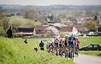 Florian SÉNÉCHAL (FRA/Deceuninck-Quick Step)<br /> <br /> 74th Dwars door Vlaanderen 2019 (1.UWT)<br /> One day race from Roeselare to Waregem (BEL/183km)<br /> <br /> ©kramon