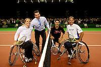 10-2-10, Rotterdam, Tennis, ABNAMROWTT, Krajicek rolstoeltennis