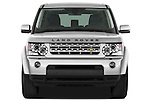 Straight front view of a 2010 Land Rover LR4