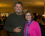 """Ron and Mimi Longero during the Reno Magazine """"Bubbles Tasting"""" event at Total Wine in Reno on Friday night, February 9, 2018."""