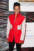 "LONDON, UK. September 23, 2019: Dame Kelly Holmes at the ""Hitsville: The Making of Motown"" European premiere at the Odeon Leicester Square, London.<br /> Picture: Steve Vas/Featureflash"