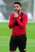 Neil Taylor of Wales during the Wales Training Session at The Vale Resort in Cardiff, Wales, UK. Monday 07 October 2019