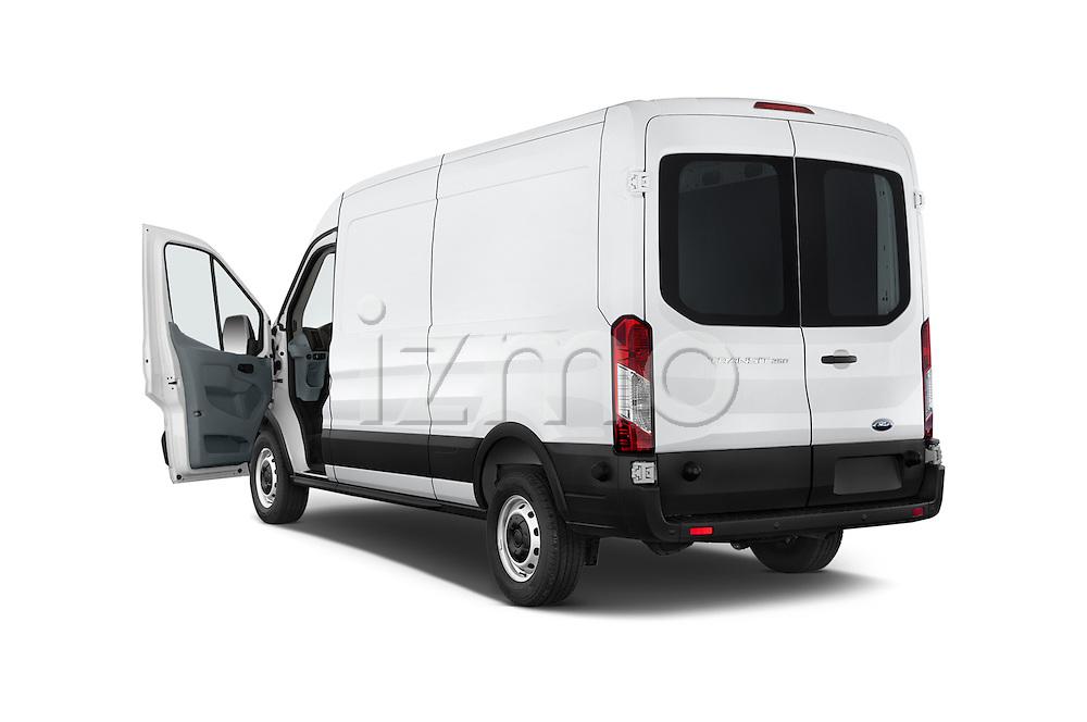 Car images of a 2018 Ford Transit 250 Van Med Roof Sliding Pass. 130 WB 2 Door Van Doors